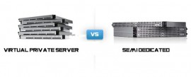 vps vs semi dedicated hosting