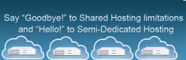 Semi-dedicated Hosting